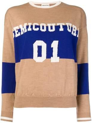 Semi-Couture Semicouture colour block sweater