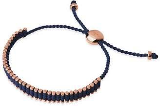 Links of London Navy Mini Friendship Bracelet