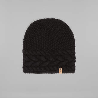 Mackage WREN cashmere chunky knit slouchy hat