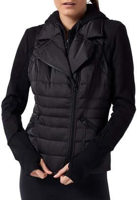 Blanc Noir 3-in-1 Packable Puffer Jacket