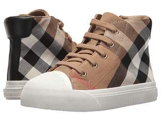Burberry Belford Check Trainer (Toddler/little Kid)