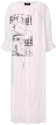 Calvin Klein x Andy Warhol Foundation Ambulance Disaster dress