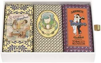 Claus Porto Classico Gift Box 3x150 g Soap (Barbear Chicken Tango)