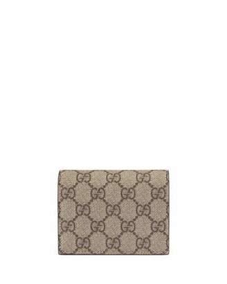 Gucci GG Supreme Canvas Card Case