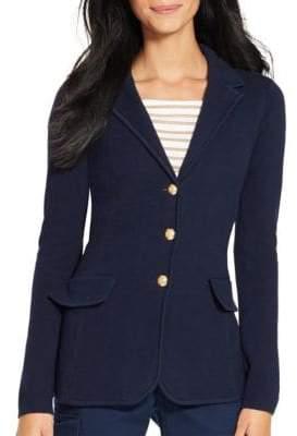 Lauren Ralph Lauren Cotton Sweater Blazer