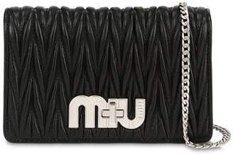 Miu Miu Small My Miu Quilted Leather Bag