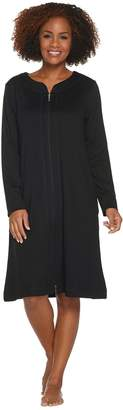 Carole Hochman French Terry Zip Up Robe