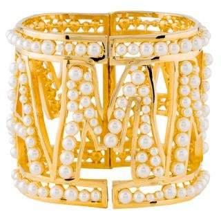 Dolce & Gabbana Faux Pearl 'Mama' Bracelet