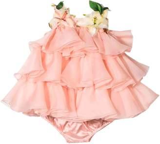 Dolce & Gabbana Pink Newborn Dress Kids