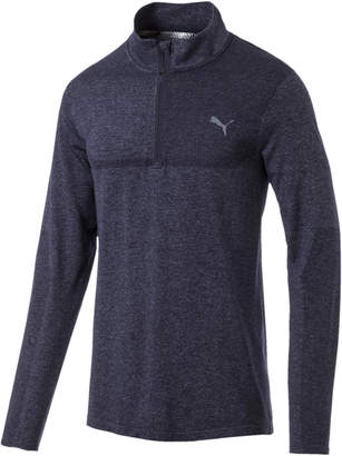 evoKNIT 1/4 Zip Mens Long Sleeve Shirt