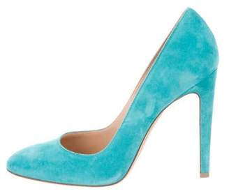 Gianvito Rossi Round-Toe High-Heel Pumps