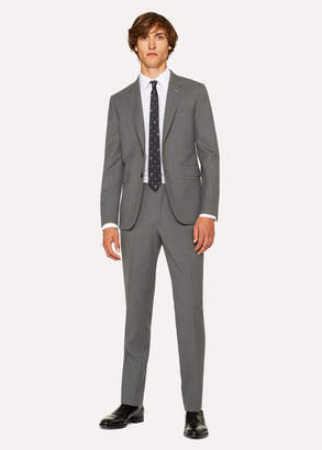 Paul Smith The Kensington - Men's Slim-Fit Grey Wool Suit 'A Suit To Travel In'