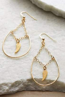 Soft Surroundings Micah Hoop Earrings