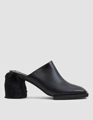 Reike Nen Square Toe Platform Mule in Black