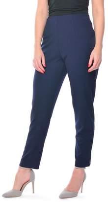 Grace Navy Petite Fit Trousers