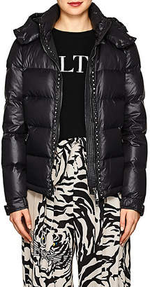 Valentino Women's Studded Puffer Coat - Black