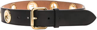 Fendi FF Studded Belt