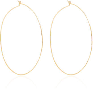 Chicco Zoe 14K Extra Large Hammered Hoops