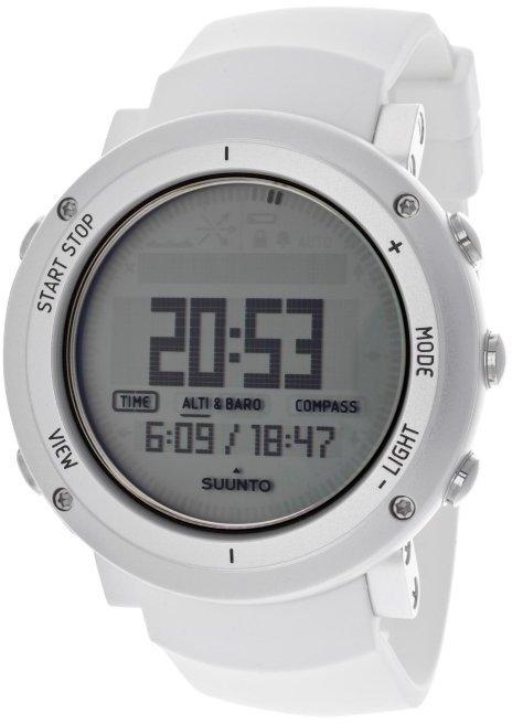 Suunto Men's Core Digital Multi-Function White Rubber SS018735000 Watch