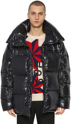 Calvin Klein Oversize Lightweight Nylon Down Jacket