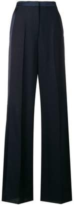 Roberto Cavalli side stripe wide leg trousers