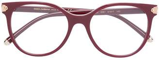 Dolce & Gabbana Eyewear round shaped glasses