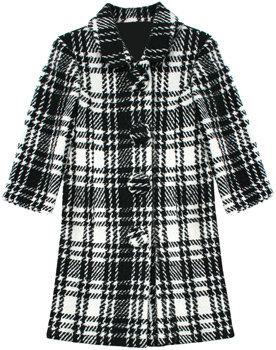 Monroe Plaid Coat