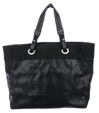 Chanel Large Paris-Biarritz Tote Black Large Paris-Biarritz Tote