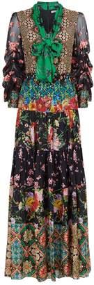 Alice + Olivia Clementine Printed Maxi Dress