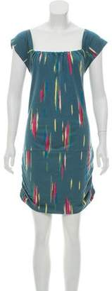 Charlotte Ronson Printed Sleeveless Dress