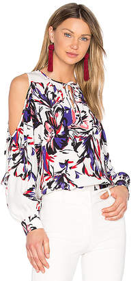 Parker Polly Blouse in Purple $230 thestylecure.com