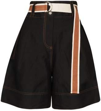 Lee Mathews Lucien wide-leg shorts
