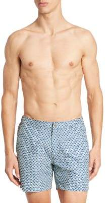 Saks Fifth Avenue COLLECTION Printed Swim Trunks