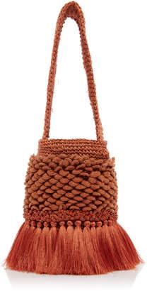 Johanna Ortiz Honey Lavender Small Crochet Bag