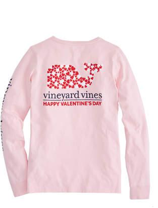 Vineyard Vines Long-Sleeve Valentine's Day Pocket Tee
