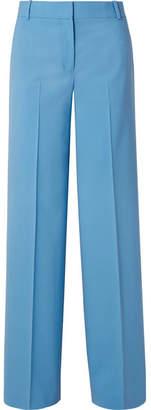 Theory Piazza Wool-blend Wide-leg Pants