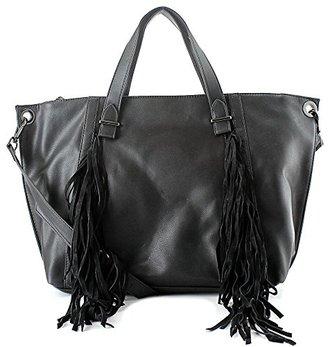 Steve Madden Blucyy Fringe Tote Bag $54.95 thestylecure.com