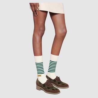 Gucci Women's Dapper Dan cotton socks
