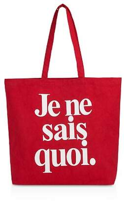Whistles Je Ne Sais Quoi Large Cotton Tote