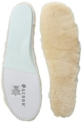ACORN Women's Sheepskin Insole Flat $15 thestylecure.com
