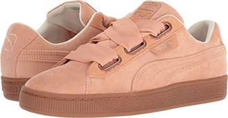 Puma Women's Basket Heart Corduroy Sneaker