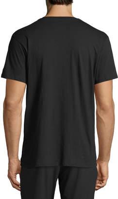 Karl Lagerfeld Paris Men's Camo & Mesh T-Shirt