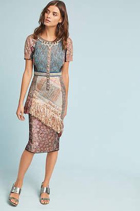 Byron Lars Beachcomber Column Dress