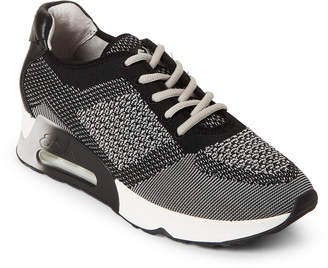 Ash Marble & Black Lucky Knit Sneakers