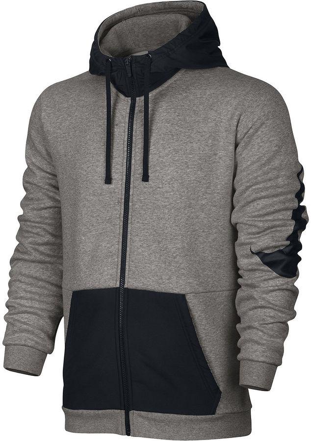 Nike Mix Long-Sleeve Fleece Full-Zip Hoodie