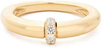 Sophie Ratner Single Diamond Domed Ring