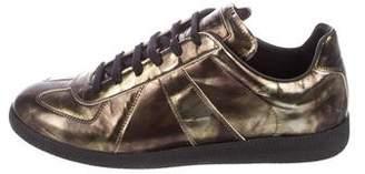 Maison Margiela Replica Patent Leather Sneakers