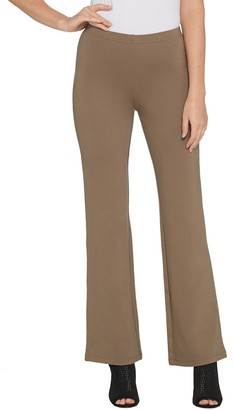 Women With Control Women with Control Regular Soft Tech Pull-On Low Bell Pants