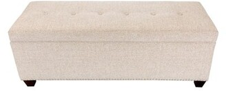 Millwood Pines Woodside Upholstered Storage Bench Millwood Pines