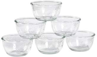 Mason Craft & More Mason Craft and More 6 Inch Round Glass Cereal Bowl, Set of 6